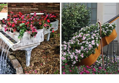 Billig smuk have med genbrug