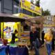 Book en food truck med street food