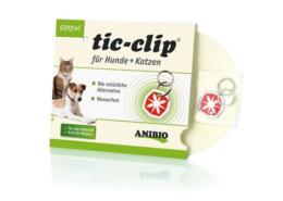 Tic-clip mod lopper og tæger til hund
